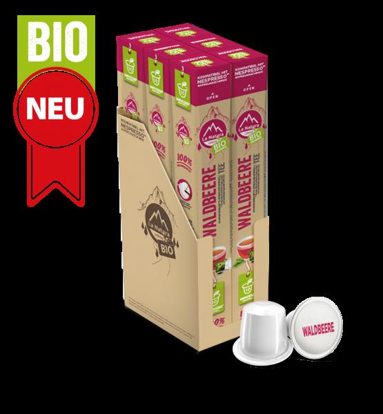 Waldbeere BIO Tee - 60 Kapseln La Natura Lifestyle