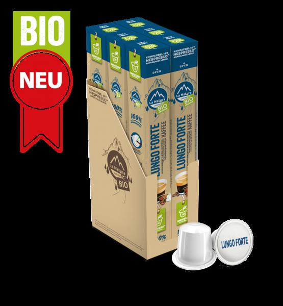 Lungo Forte BIO Kaffee - 60 Kapseln La Natura Lifestyle