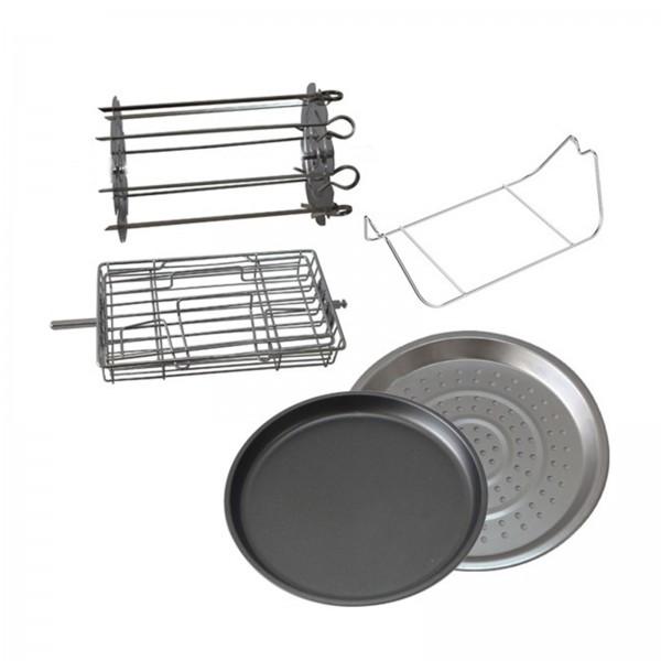 5tlg Deluxe Zubehör-Set für den Nutri Health Fryer 10L