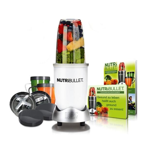 NutriBullet Extraktor 600W Basis-Set 12tlg. weiß