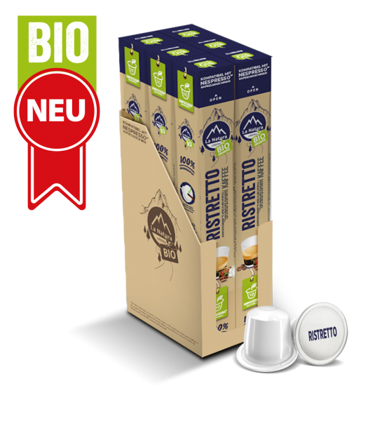 Ristretto BIO Kaffee - 60 Kapseln La Natura Lifestyle