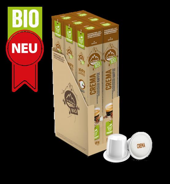 Crema BIO Kaffee - 60 Kapseln La Natura Lifestyle