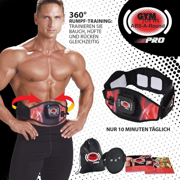 Gymform Abs-A-Round Pro® Platinum mit 3 Zusatzfunktionen - das Original